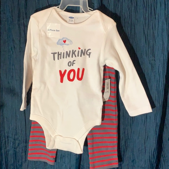 Old Navy Other - New infant 2 piece pajamas 12-18 months